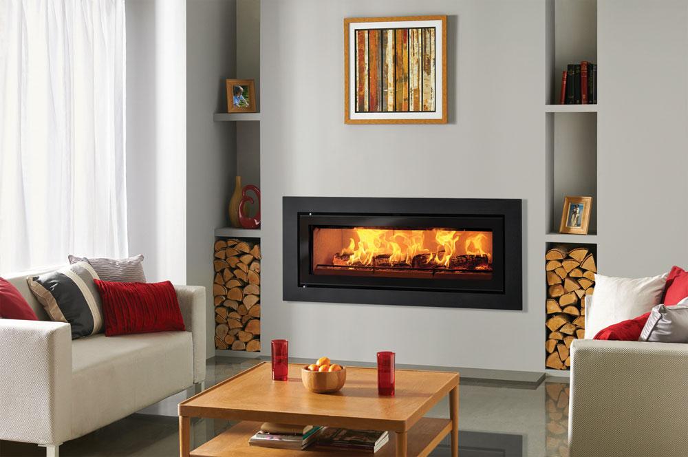 Studio Steel Xs Inset Wood Burning Fires Stovax Built In
