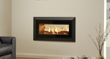 Double sided wood burning fires!