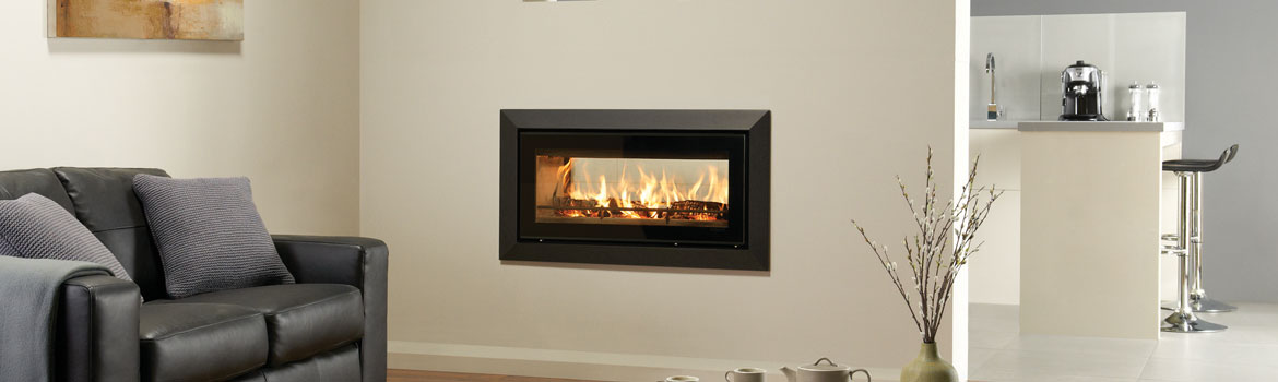 Double Sided Wood Burning Fires