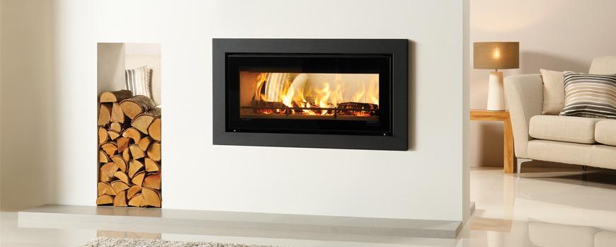 Stovax Riva Studio Duplex wood burning