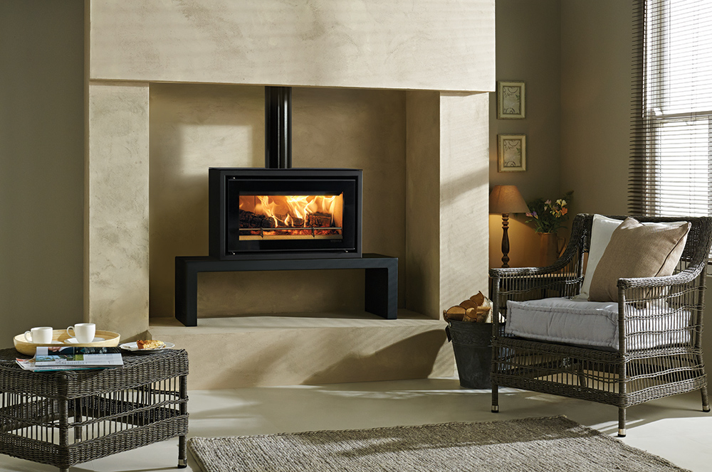 Studio 1 Freestanding Wood Burning Stove - Stovax Stoves