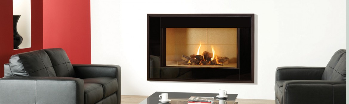 The sun is shining and so is our iconic Gazco gas fire!