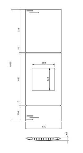 Riva2 400 Verve XS Dimensions