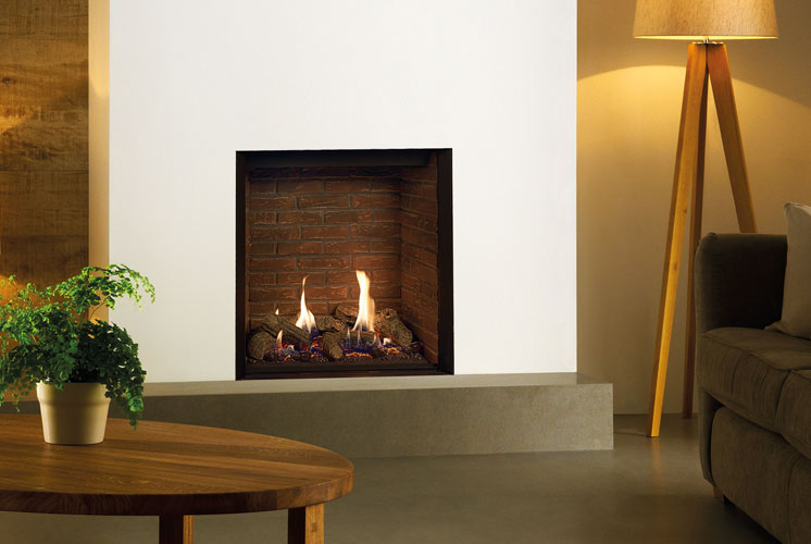 The Gazco Riva2 600hl Elegantly Traditional Or