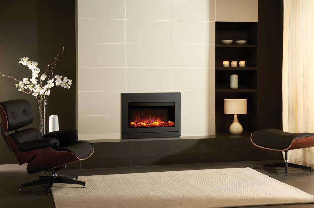 Riva2 670 Electric Designio2 Steel Fires Gazco Fires