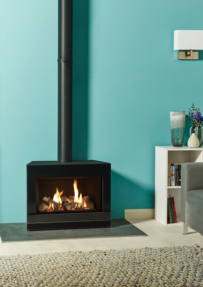 Riva2 F670 Gas Stoves - Gazco Contemporary Stoves ...