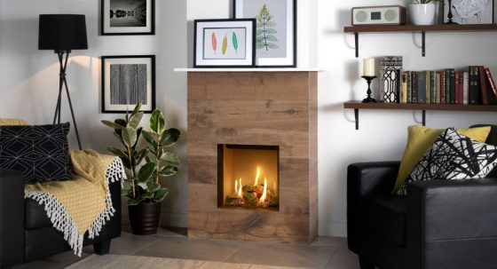 The Gazco Riva2 400 – A small gas fire with big style