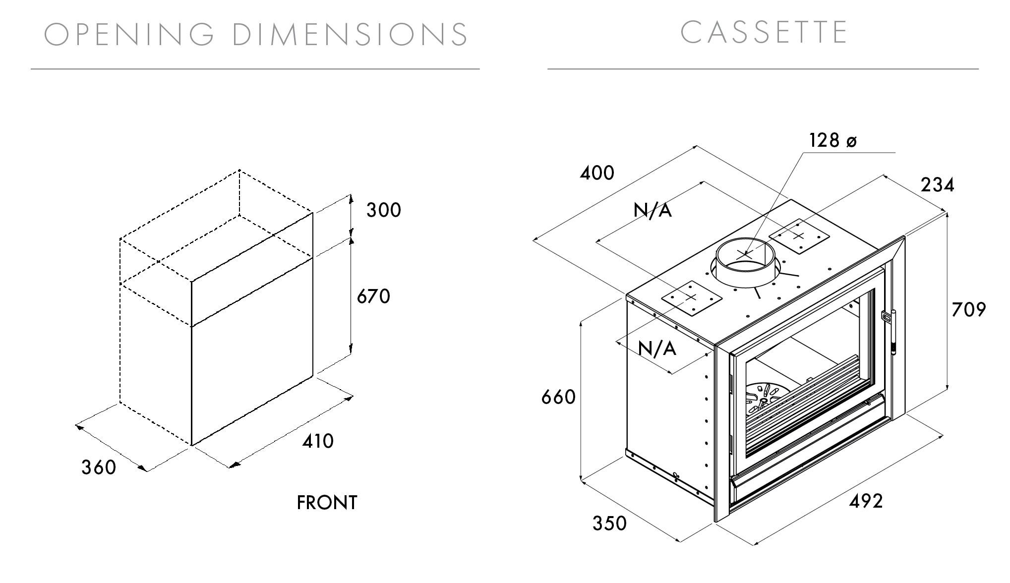 Riva 45 Dimensions