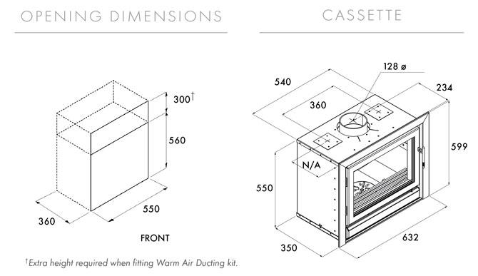 Riva 50 Dimensions