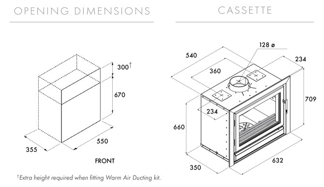 Riva 55 Dimensions