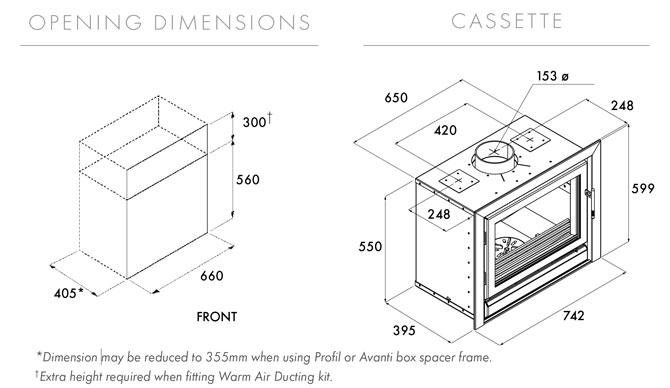 Riva 66 Dimensions