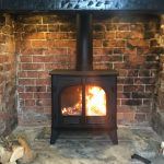 "Stovax Stockton 8 – ""Loving the warm glow. So pleased I opted for a Stovax""."