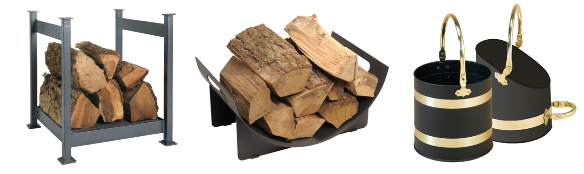 Scuttles and Log Holders