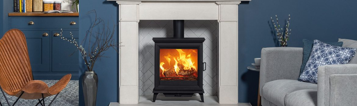 All-new wood burning stoves: Sheraton 5 Wide