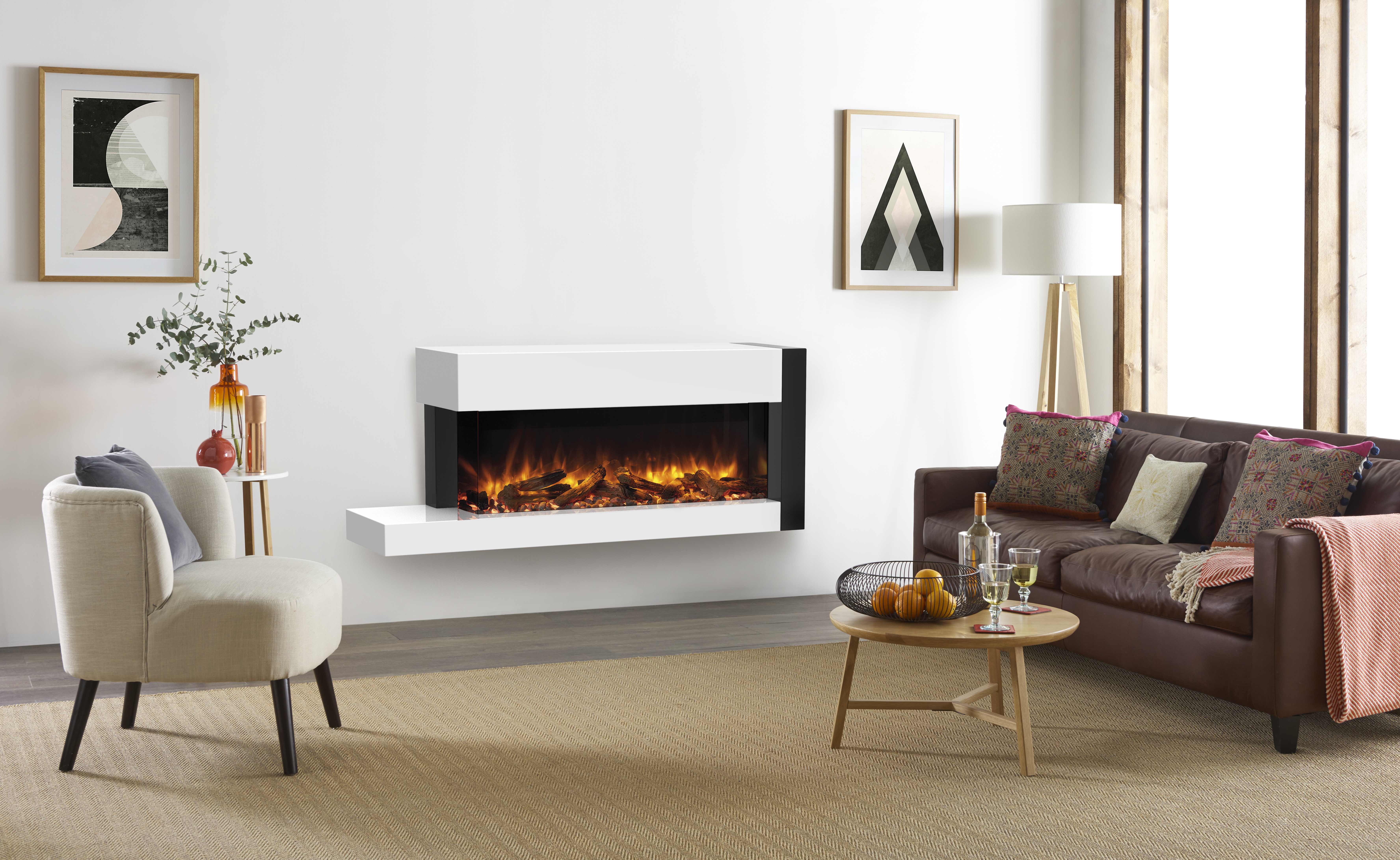 ideas fireplace cool stone logs decorative decoration pin living minimalist and stylish with surround modern room slate twill sofa white black gas frames tile