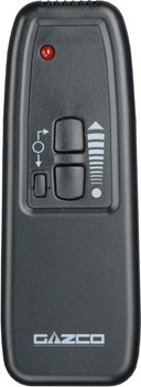 Standard upgradeable remote control for Riva 53 and 67
