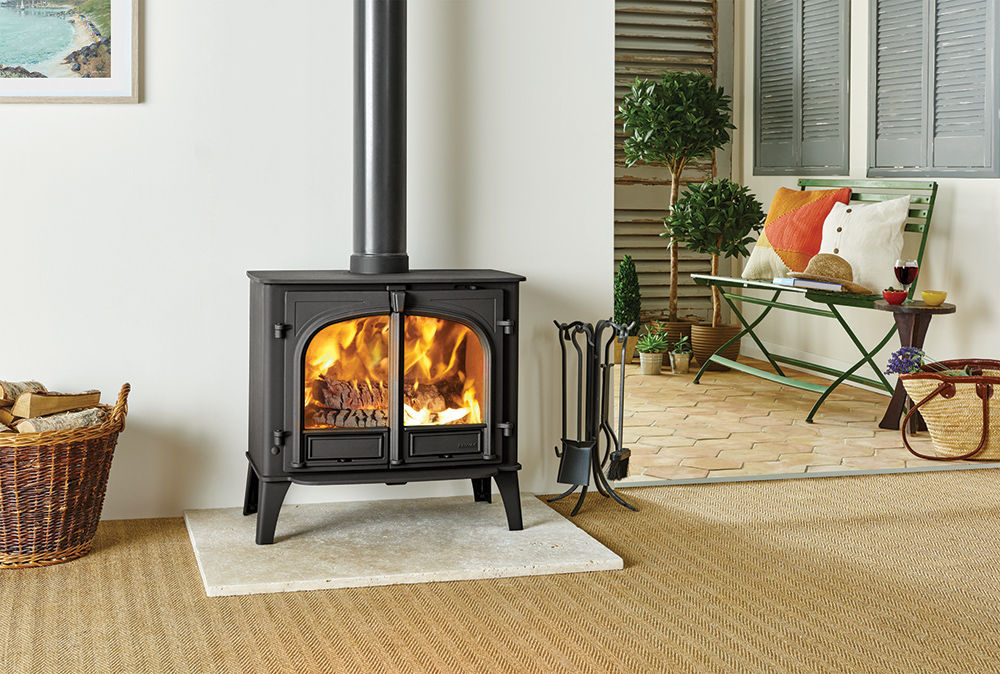 Fireplace Design convert wood burning fireplace to gas : Stockton 11 Wood Burning Stoves & Multi-fuel Stoves