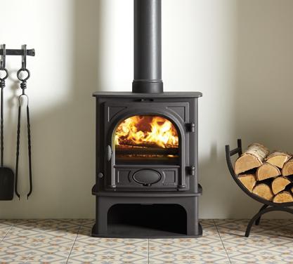Stockton 5 Midline wood burning and multi-fuel stove