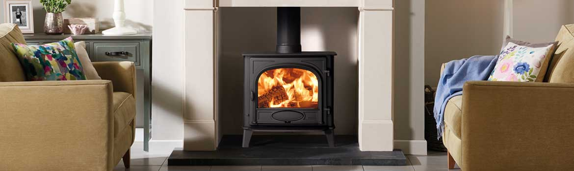 Stockton 5 Wood burning and multi-fuel stove goes Wide!