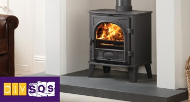 Stovax Stockton 5 features on DIY SOS