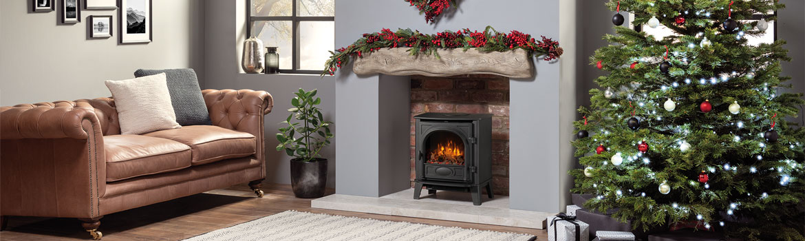 The Stockton 5 – a classic stove available in solid fuel, gas and electric!