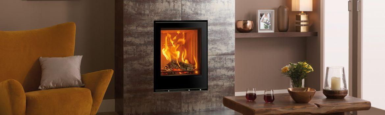 Inset Wood burning Fires – Introducing the Elise Glass Range!