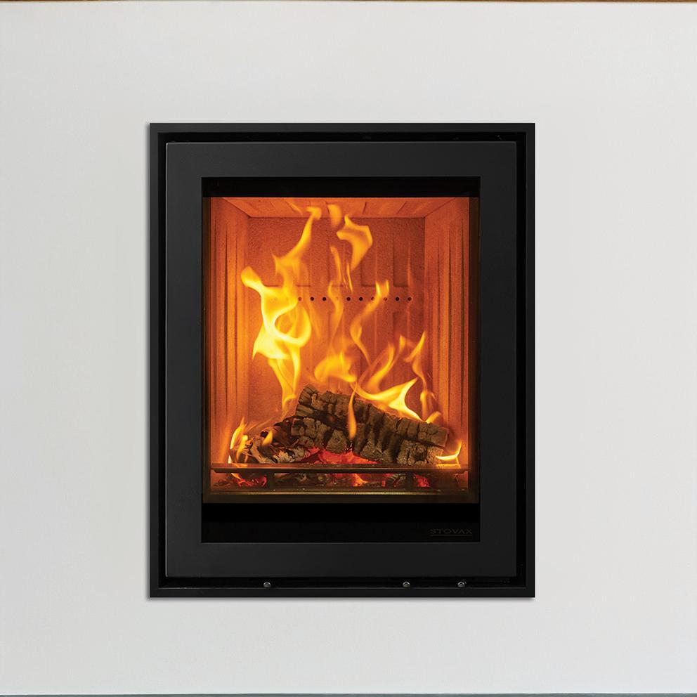elise edge wood burning inset fires u0026 multi fuel inset fires stovax