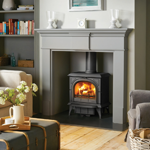 The Huntingdon 30 wood burning stove can give a period property an authentic finish.