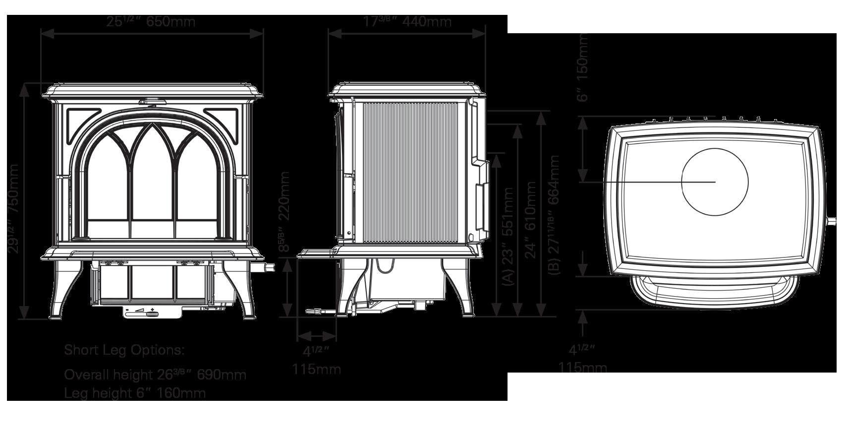 Huntingdon 40 Dimensions