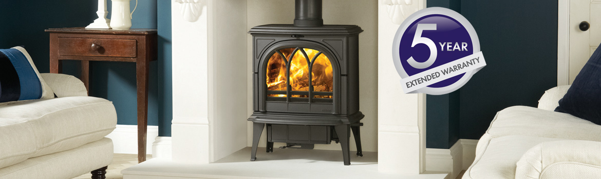 Stovax and Gazco Solid Fuel and Gas Stoves and Fireplaces 5 Year Extended Warranty