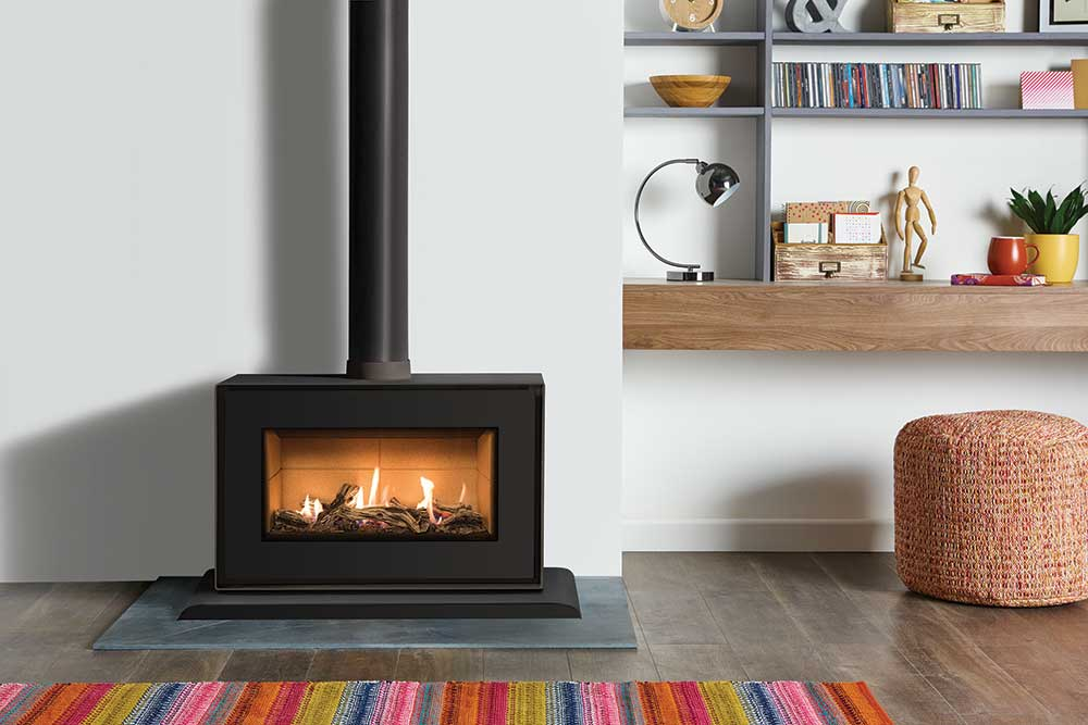 Studio 1 Freestanding Gas Fires Gazco Contemporary