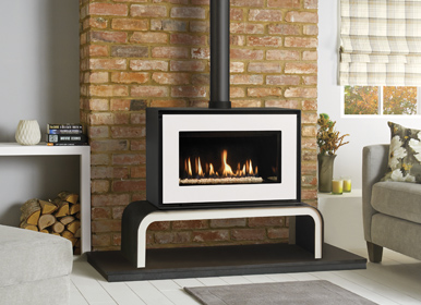 Gazco Studio 1 Freestanding gas fire