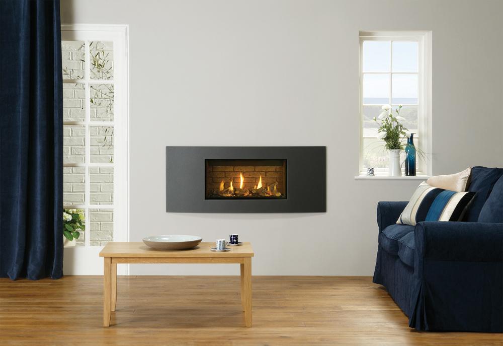 Fireplace Design gel fuel fireplaces : Studio Slimline Gas Fires