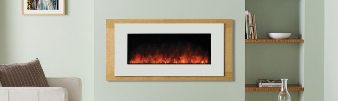 Stunning, contemporary electric fires