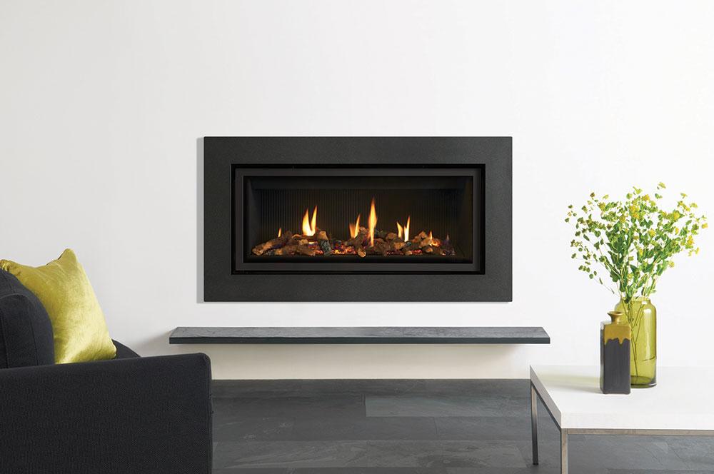 studio expression gas fires gazco fires. Black Bedroom Furniture Sets. Home Design Ideas