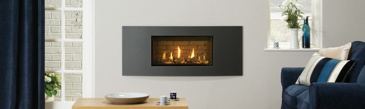 The benefits of our latest built in gas fire
