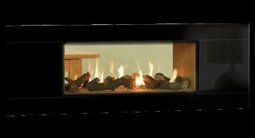 Studio Duplex Gas Fires