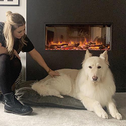 Fiona, Scandinavian style, eReflex electric fire