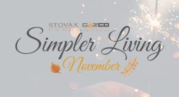 Stovax's Simpler Living: November