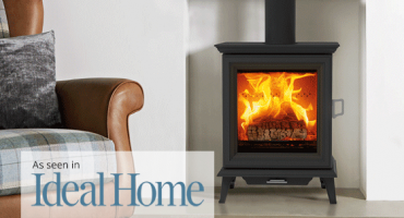 Stovax features in Ideal Home magazine with brand-new wood burning stove