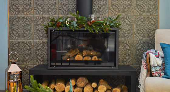 Stovax feature in Ideal Home Show at Christmas