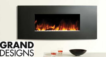 Studio Electric Fire of Choice at Grand Designs Live!