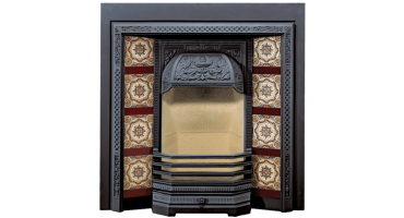 Victorian Tiled Fireplaces