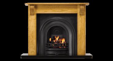 Victorian Wood Mantel