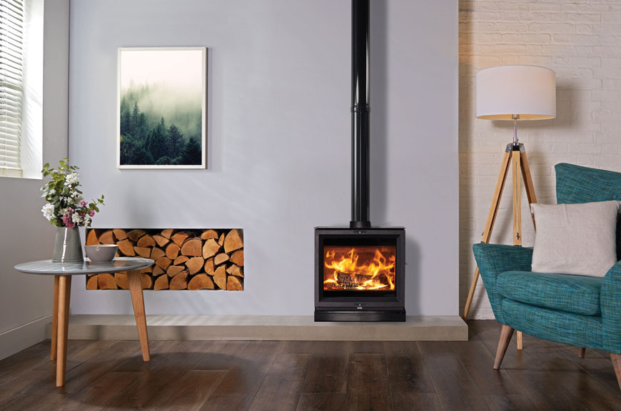 Stovax View wood burning and multi-fuel stoves goes widescreen