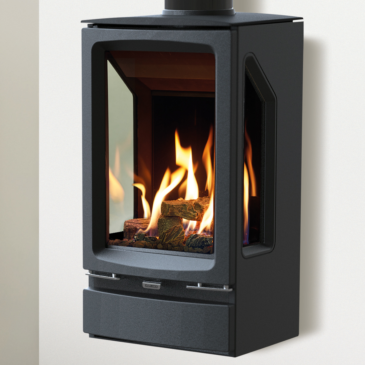 vogue midi t wall mounted gas stoves gazco
