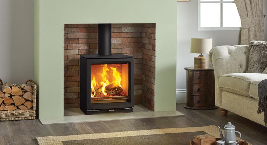 Vogue Medium Wood Burning Amp Multi Fuel Stove Stovax