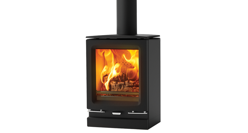Vogue Small Wood Burning Stove - Stovax Contemporary Stoves