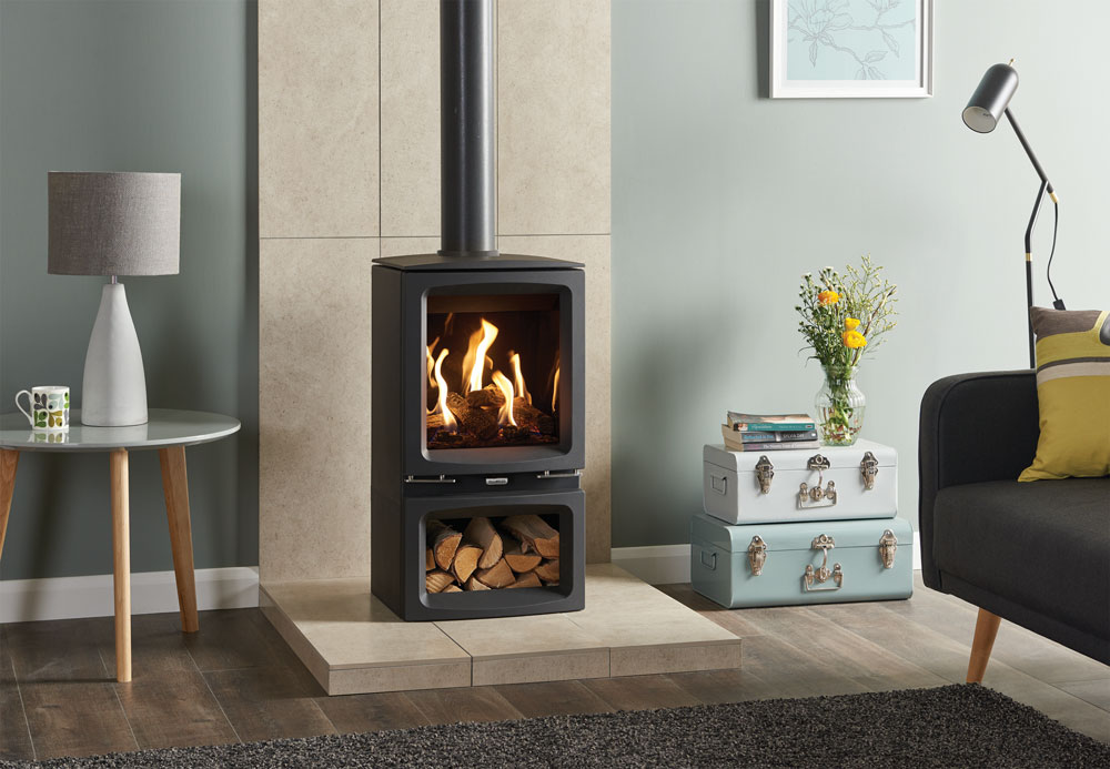 Gas Vogue Midi Amp Midline Stoves Gazco Contemporary Stoves