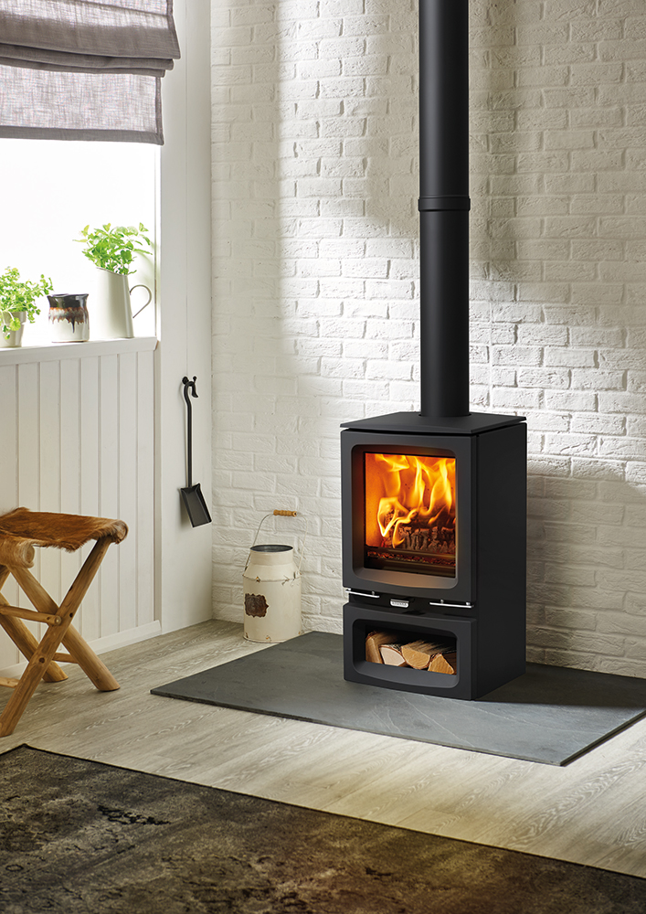 Vogue Small Wood Burning & Multi fuel Stove Stovax